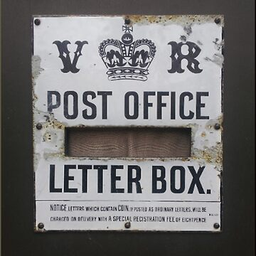 Post Office ~ Vintage by TheBeardedOne