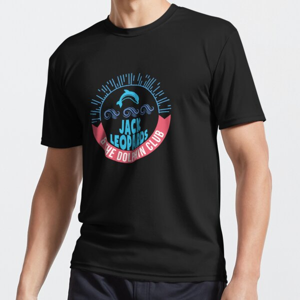 Jack Leopards & The Dolphin Club Active T-Shirt