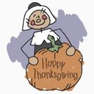 Happy Thankgiving Women's T-Shirt by HolidayT-Shirts