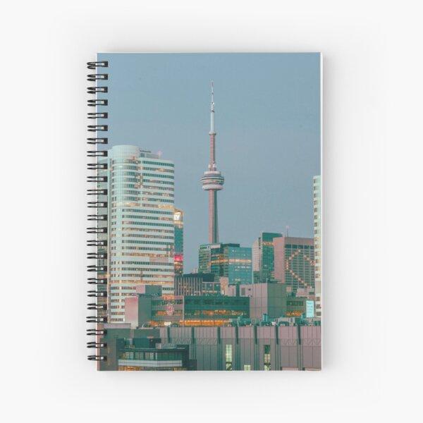 Skyline de Toronto Cuaderno de espiral