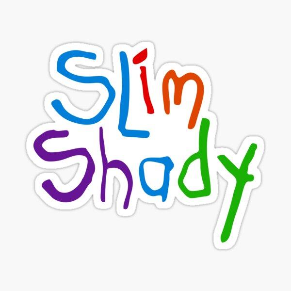 Hi My Name Is Slim Shady Sticker