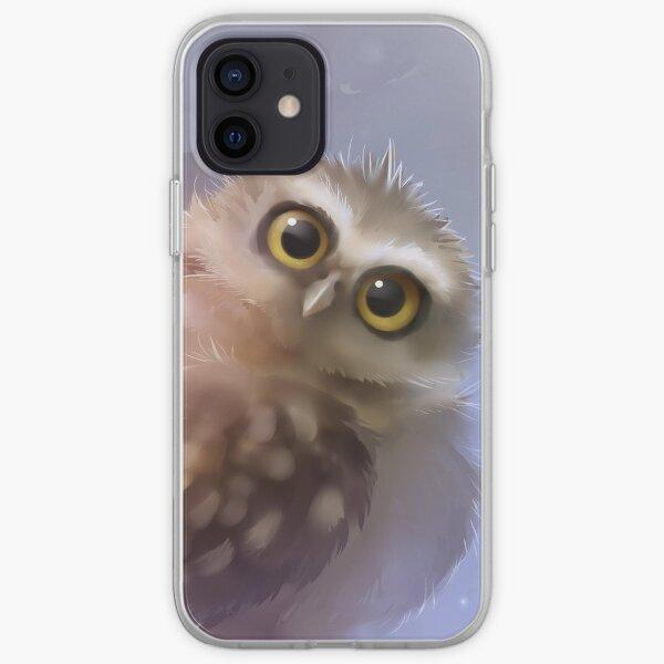 Eule graben iPhone Flexible Hülle
