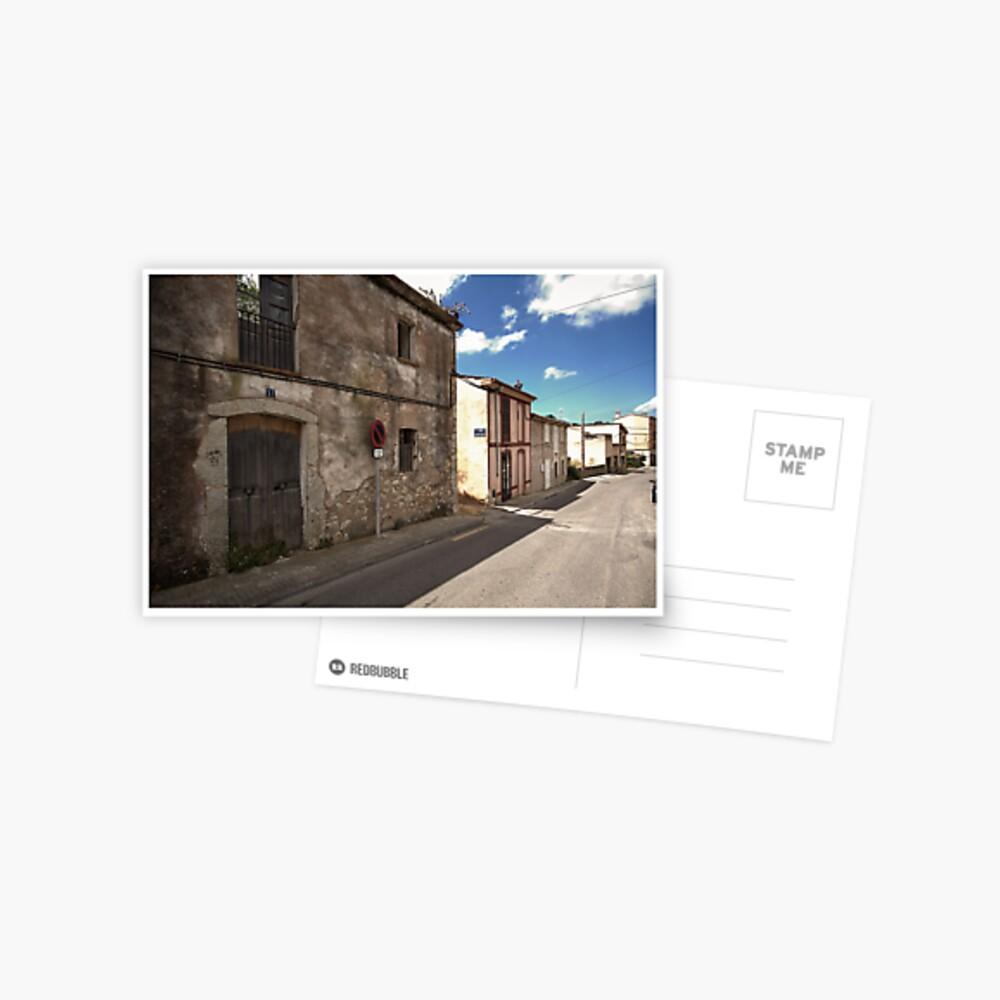 High Street of S'Arracó Postcard