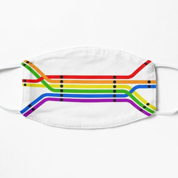 Transit Pride Flat Mask