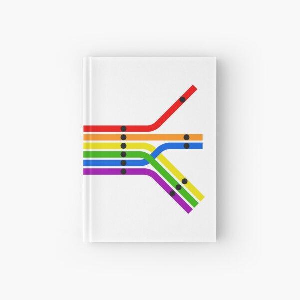 Transit Pride Hardcover Journal