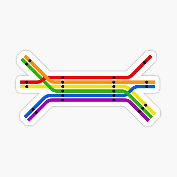Transit Pride Sticker