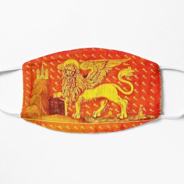 VENISE. Drapeau de la République de Venise. (Détail). Masque sans plis