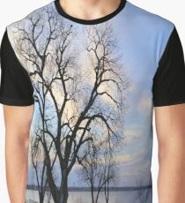 Winter Sky Graphic T-Shirt