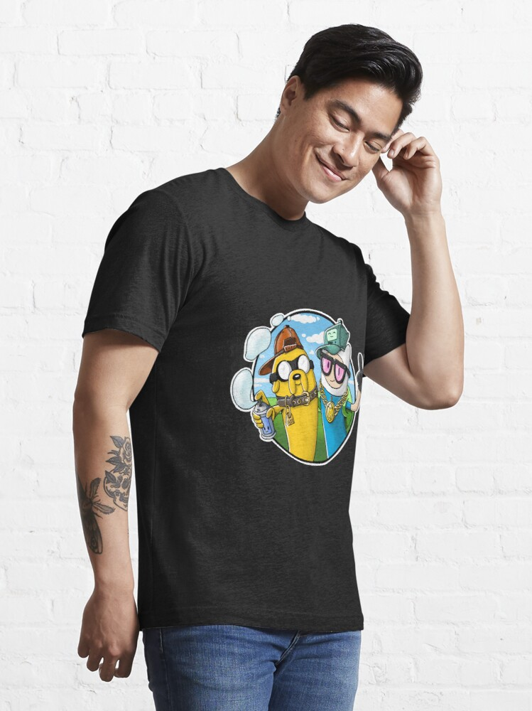 Alternate view of Adventure Time - Graffiti Time Essential T-Shirt