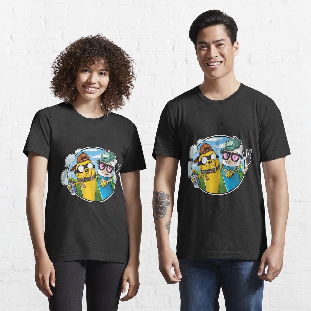 Adventure Time - Graffiti Time Essential T-Shirt