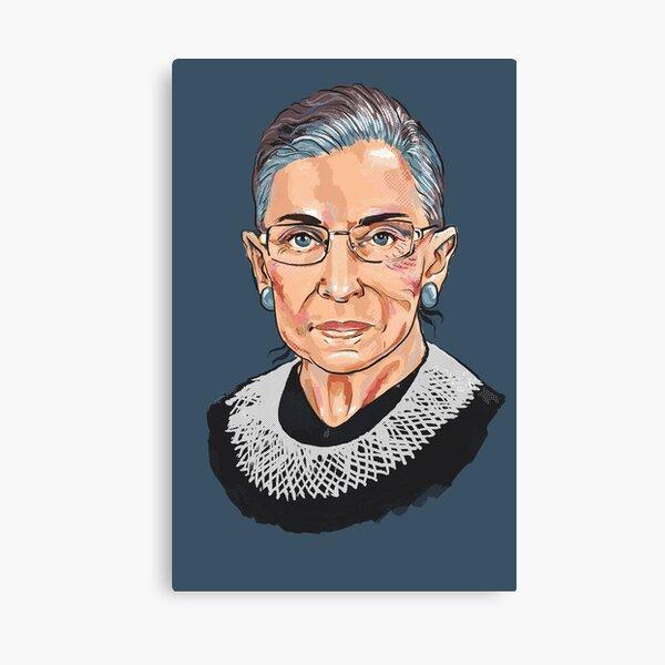 Ruth Bader Ginsburg, juge à la Cour suprême Impression sur toile