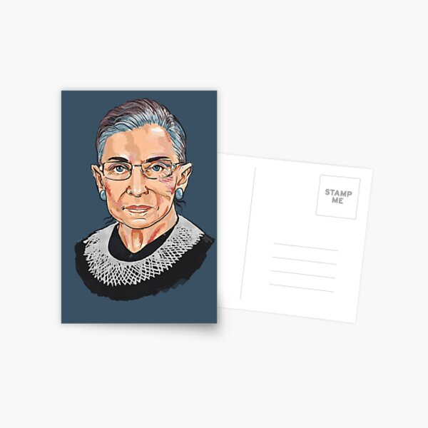 Supreme Court Justice Ruth Bader Ginsburg Postcard