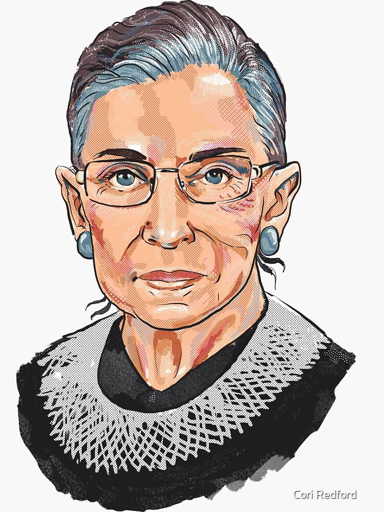 Richterin am Obersten Gerichtshof Ruth Bader Ginsburg von coriredford