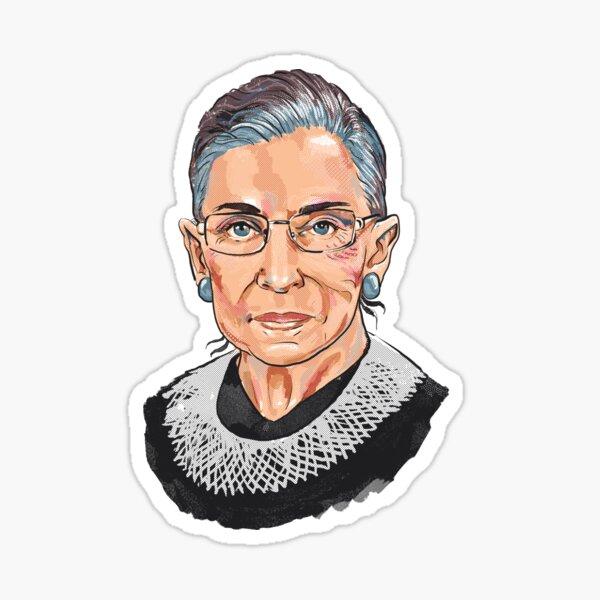 Supreme Court Justice Ruth Bader Ginsburg Sticker