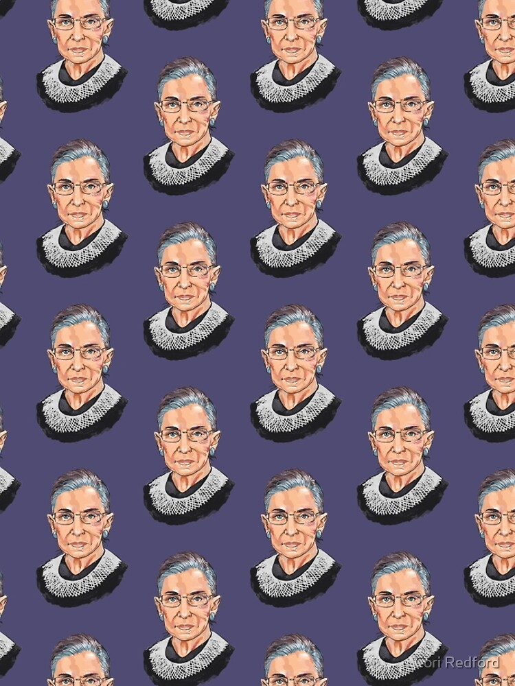 Supreme Court Justice Ruth Bader Ginsburg by coriredford