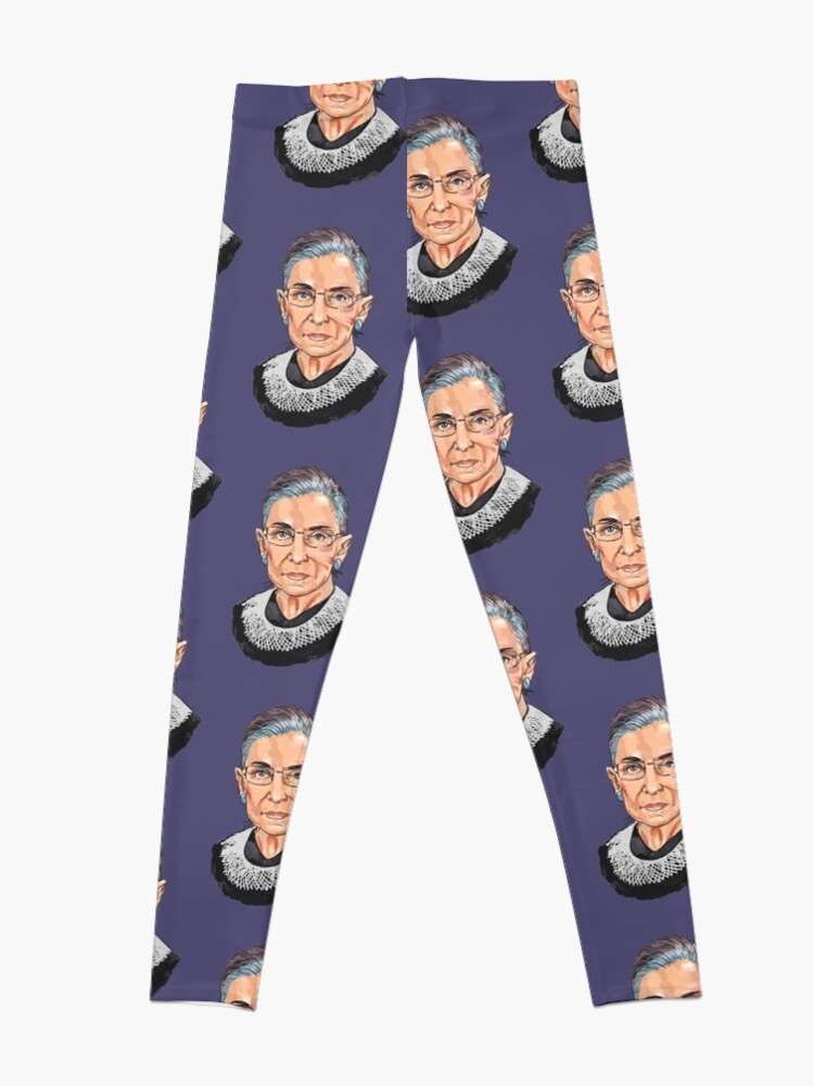 Alternate view of Supreme Court Justice Ruth Bader Ginsburg Leggings