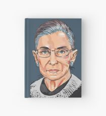 Supreme Court Justice Ruth Bader Ginsburg Hardcover Journal