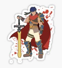 Ike - Super Smash Bros Sticker