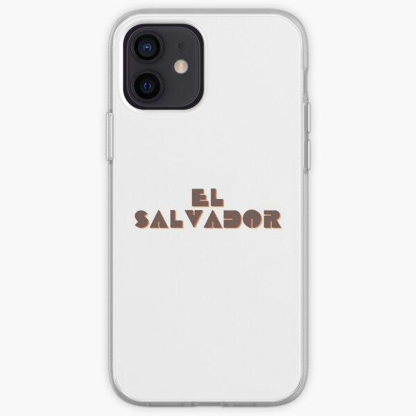 ¡El Salvador! Funda blanda para iPhone
