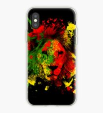 Rasta Lion iPhone Case