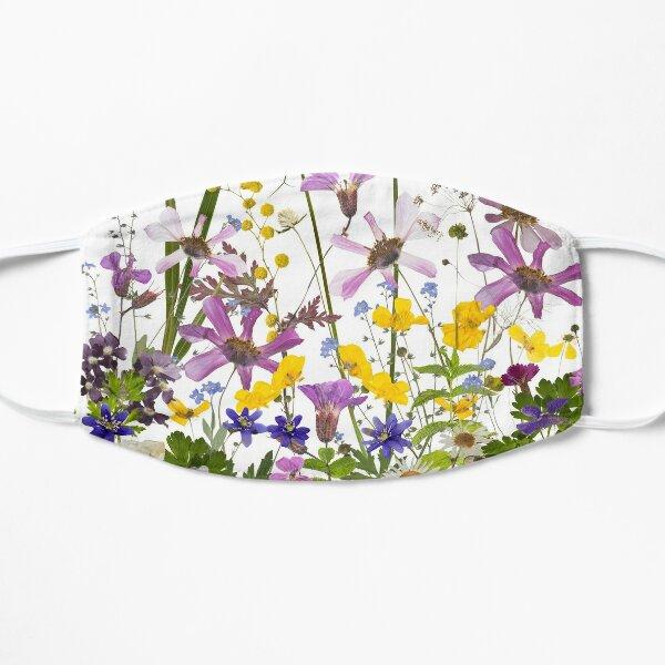 Midsummer Botanical Wildflower Meadow  II Flat Mask