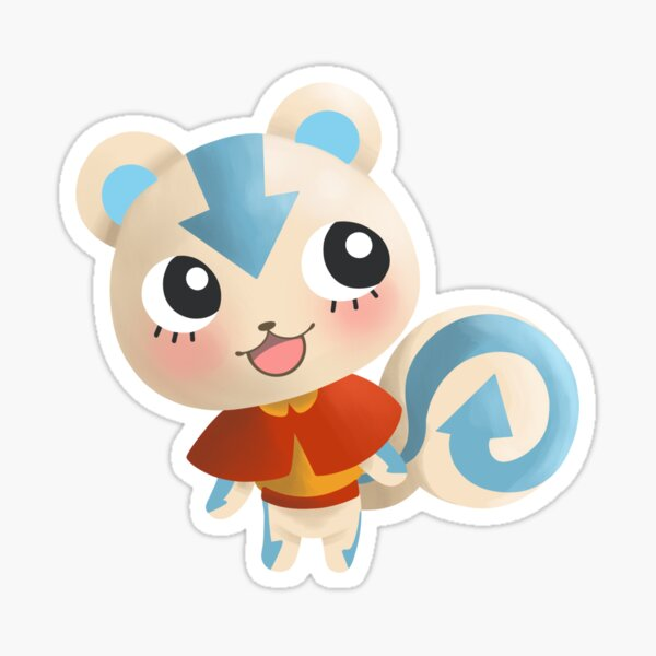 The Squirrel Avatar Sticker