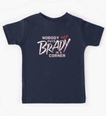 Nobody Puts Brady In A Corner Kids Tee