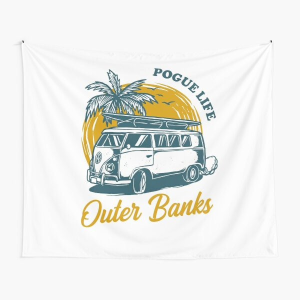 Outer Banks Pogue Life Tapestry