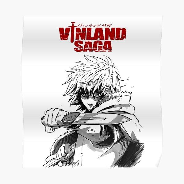 """vous aimeriez cette série spéciale """"Vinland saga"""" produite uniquement pour vous. Prenez un article aujourd'hui. Merci.   Poster"""