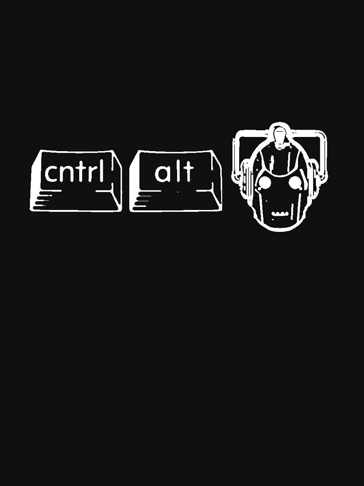 CTRL. ALT. DELETE DELETE DELETE!!!! | Unisex T-Shirt