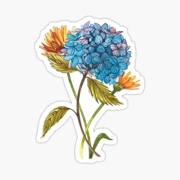 Gardenflowers Sticker