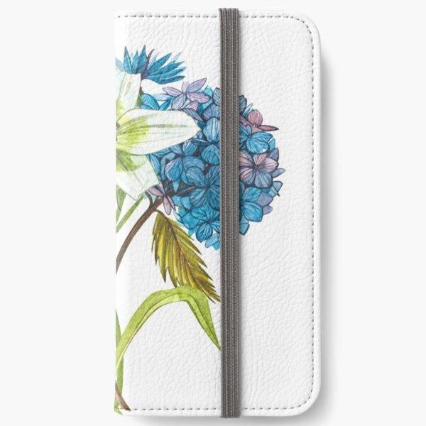 Gardenflowers iPhone Wallet