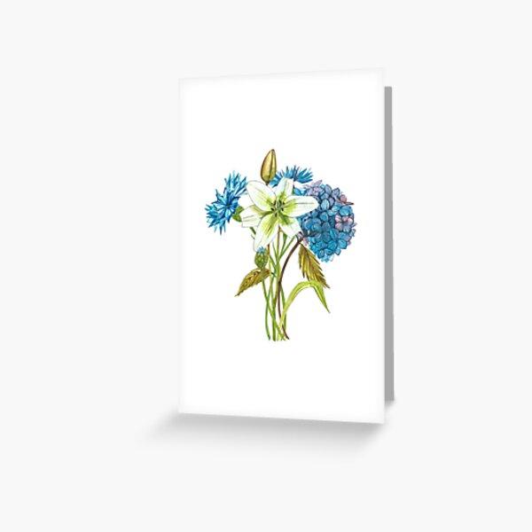 Gardenflowers Greeting Card