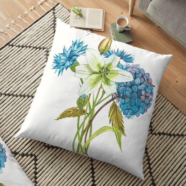 Gardenflowers Floor Pillow