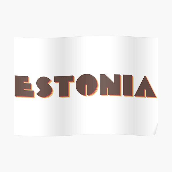 Estonia Poster