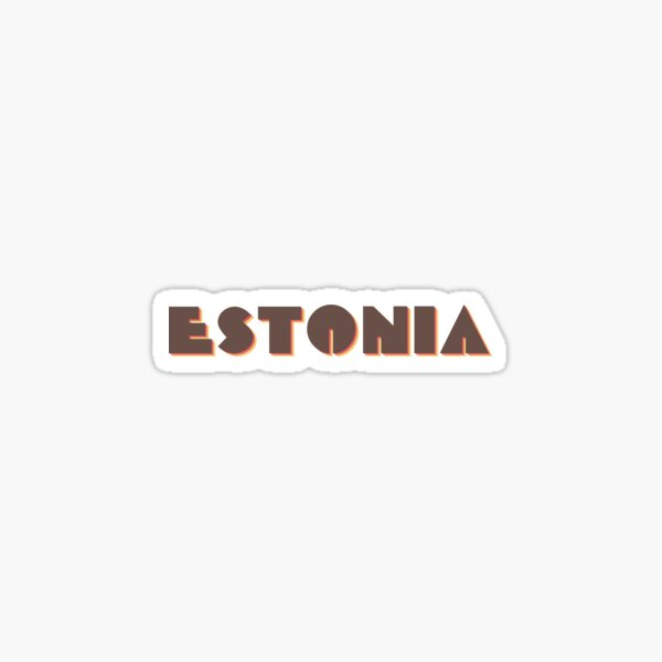 Estonia Sticker