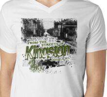 The Streets of Kingston Mens V-Neck T-Shirt