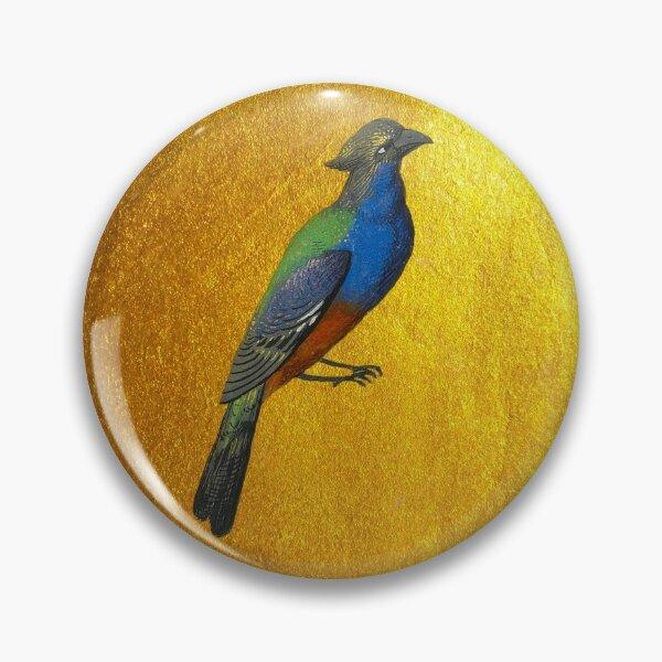 Bird and rising sun Pin