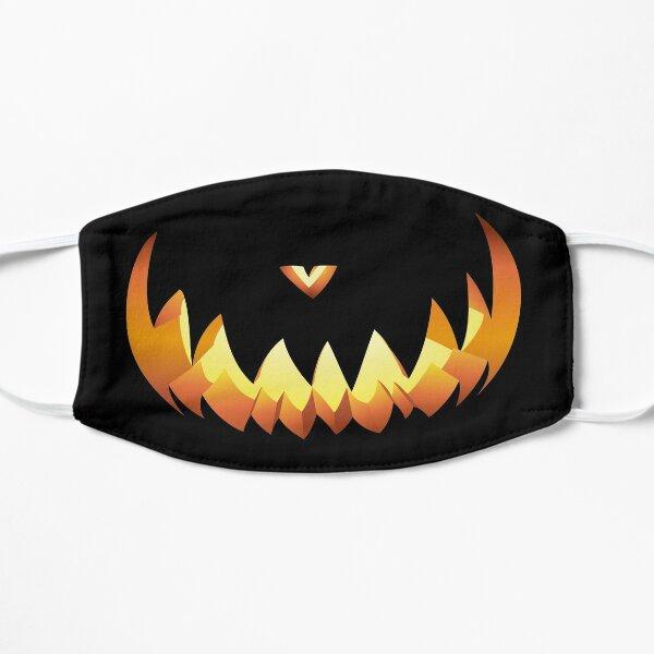 Kürbismund für Halloween Flache Maske