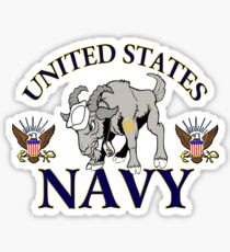 Navy Chief Drawing Stickers | Redbubble