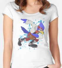 Falco - Super Smash Bros Women's Fitted Scoop T-Shirt