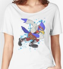 Falco - Super Smash Bros Women's Relaxed Fit T-Shirt