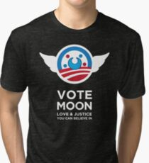 Moon President Power Tri-blend T-Shirt