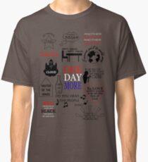 Les Miserables Quotes Classic T-Shirt