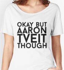 Aaron Tveit Women's Relaxed Fit T-Shirt