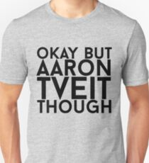 Aaron Tveit Slim Fit T-Shirt