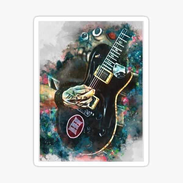 Mark Tremonti's electric guitar Sticker