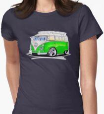 VW Splitty (11 Window) K Womens Fitted T-Shirt