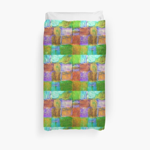 Lucky stones pave my way Duvet Cover