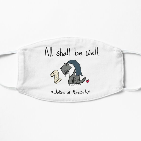 Jack - Julian of Norwich - All Shall Be Well Mask